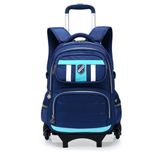 2016 Wholesale sport utility backpack trolley school bag for kids
