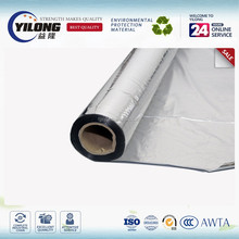 Heat sealing kraft paper laminated metalized PVC film