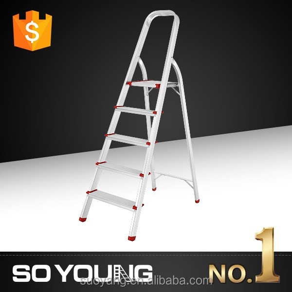 2015 telescopic ladder parts EN131 certificate Max load ing 150KGS