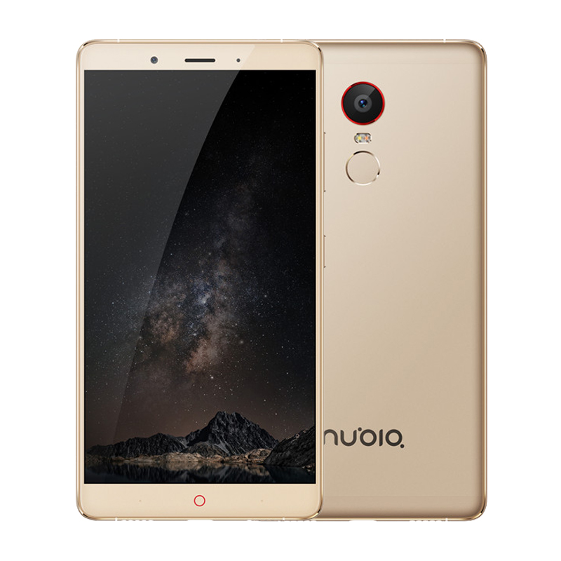 "Original ZTE Nubia Z11 <strong>Max</strong> NX523J 4G LTE Mobile Phone Octa Core 6.0"" 1080P 3/4GB RAM 64GB ROM 16.0MP 4000mAh Fingerprint ID"