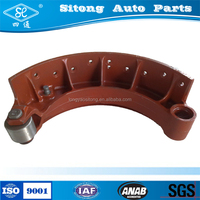 rear casting brake shoe and import auto parts machine factoty