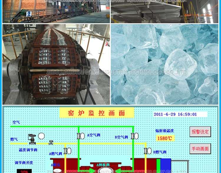 Horse-shoe Flame Glass Melting Furnace And Recuperative Furance
