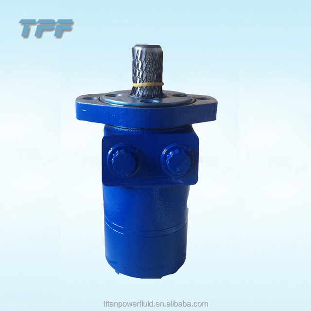 BMPH-H6 Series 4 Bolt Rhomb-flange which equivalent to Charlynn/eaton orbital hydraulic motor
