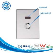 Hotel Hospital Restaurant Water Saving Stainless Steel Infrared Sensor Toilet