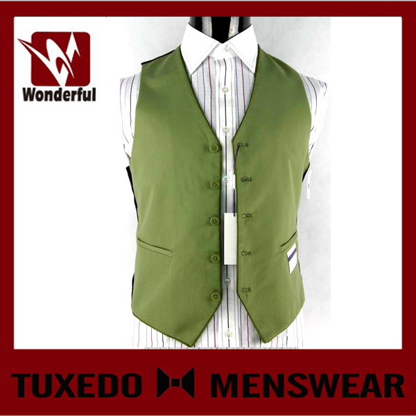 Best quality custom-made young men's fashion vest