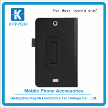 [kayoh]China supplier tablet pc cover case for acer one7 flip stand leather bag for Acer 770