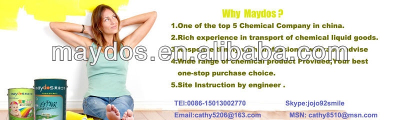 Maydos Factory use durable natural drying epoxy concrete floor paint(China paint company/maydos paint )