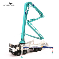 christmas gift Alloy engineering vehicle mold concrete pump truck children toy car model