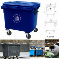 1100L NEW HDPE Storage Container Eco-friendly