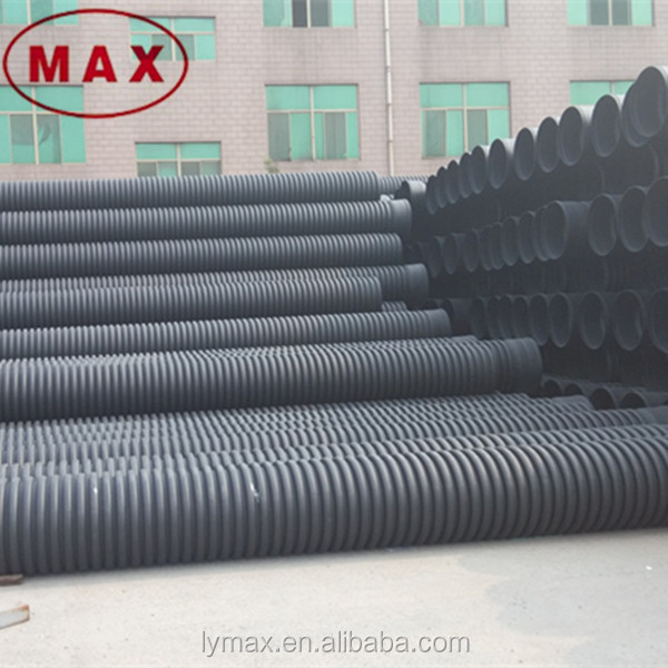 Pe inch corrugated drain pipe for drainage buy