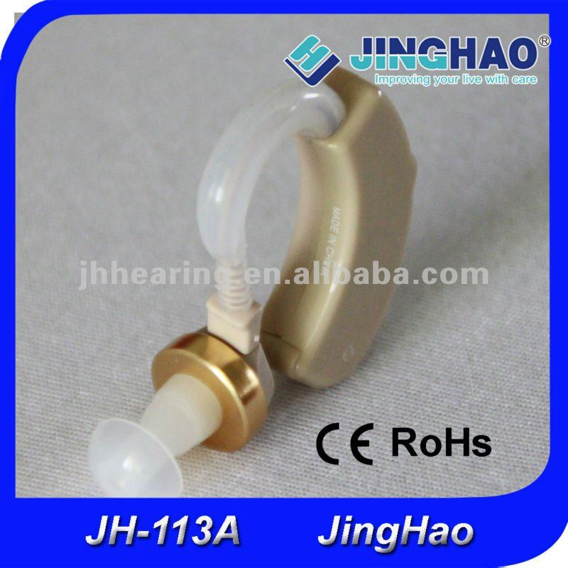 High power BTE classic hearing amplifier for elderly home care