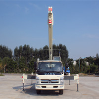 STSQ8B Telescopic Pickup Lift Mini Used Crane Boom Truck