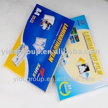 transparent, smooth,high tensile strength laminating film