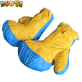 very large personalized boxing gloves for inflatable fighting games sumo