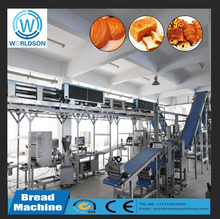 industrial baking bread dough rolling machine