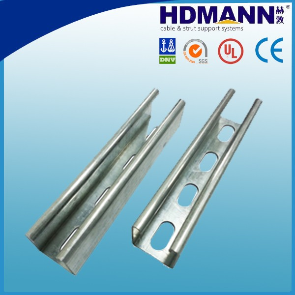 Stainless steel c channel/strut channel sizes