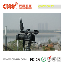 CVW100: 120M 1080p HD Video Audio Wireless Cable free TV Transmitter/Receiver System, for video mixer and field monitor