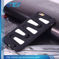 Best selling silicon+pc flip cover case for vivo v1