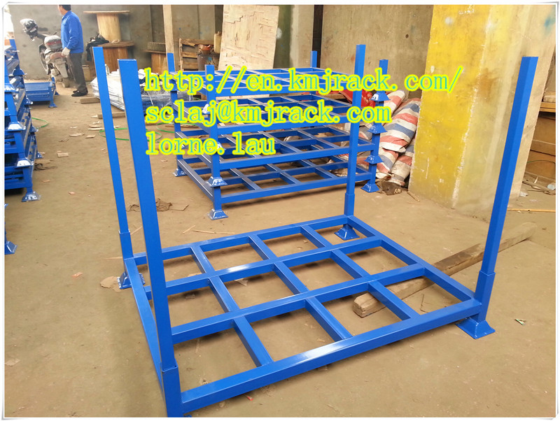 Stacking and Folding Steel Tire Pallet Racks
