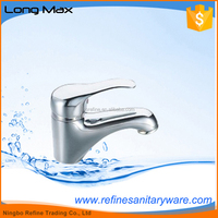 Classic Style Chrome Plated Brass Basin Faucet Mixer Tap certified with CE