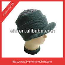 New newsboy hat visor cabbie men women knitted beret cap hat