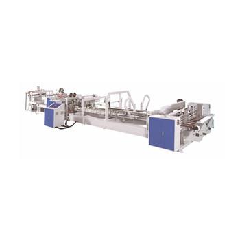 Automatic High Speed Corrugated/Carton Box  Stitching & Folding in line machine