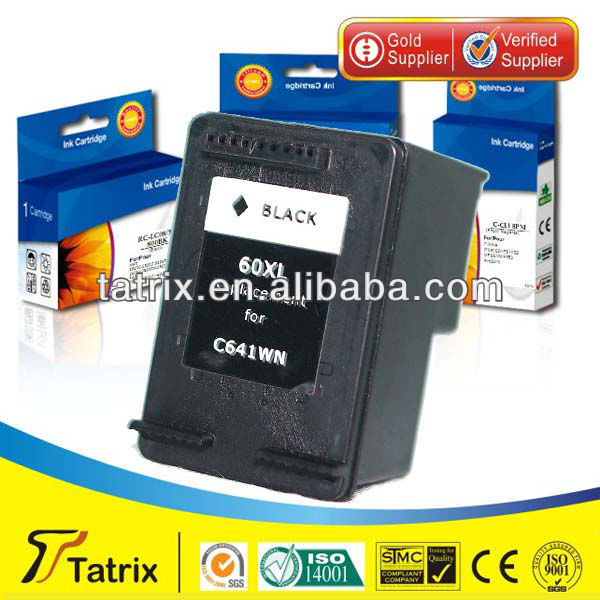 Ink Cartridge for HP 60XL, Remanufactured Ink Cartridge for HP 60XL Used In for HP Deskjet F2560, F2568 ( for HP 60XL )
