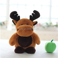 christmas plush toy soft reindeer stuffed animal