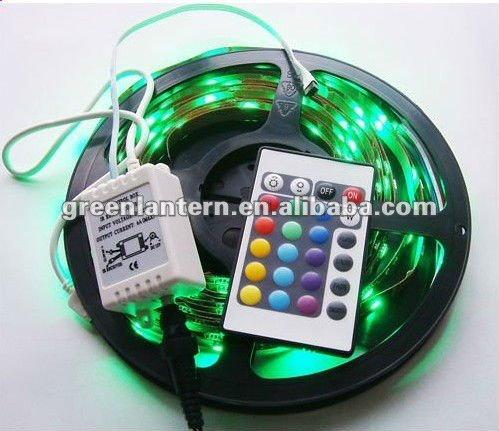 IR /RF RGB SMD 5050 Flex LED strip lamp