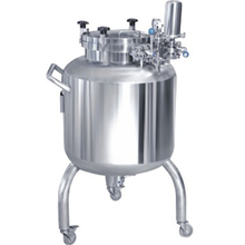 stainless steel oil crude and hot water storage tank