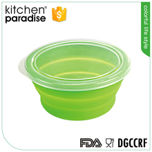 FDA approved silicone steamer/bowl/lunch box with lid