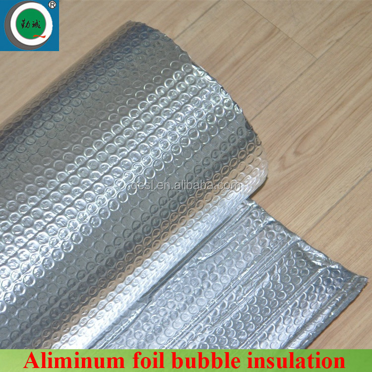 Fire retardant Aluminum thermal reflective foil air bubble insulation