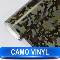 Very Cool Snow Camo Car Decoration White Camouflage Car Vinyl Film
