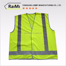 2017 Hot type 100% polyester fabric as/nzs safety vests
