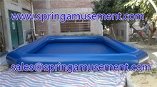 Durable 0.9mm PVC inflatable pool for water ball or paddle boats SP-WG10036