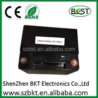 ups storage battery 12v 40ah LiFePO4 lithium ion battery pack