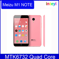 100% Original MeiZu Note M1 Mini Meilan Cell Phone MTK6732 Quad Core Android 4.4 5 Inch IPS 1280X768 2GB/16GB meizu mini note