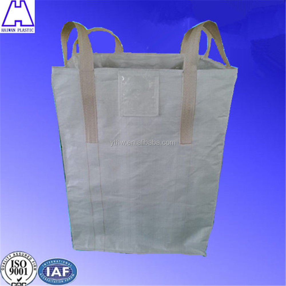 big plastic bag for packaging sand
