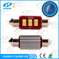 Festoon 36mm 3*5730 SMD LED Interior Car Light auto license plate light auto festoon bulb readling Light