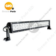 Super bright each of chip 3w 22inch dual row 120w led driving light bar for jeep truck Offroad