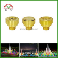 Brass Fountain Dancing Nozzle Outdoor Water Sprayer Nozzles