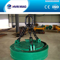 Factory manufacturing MW5 Electro Lifting Magnet for Handling Steel Scraps