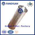 Stainless steel aquaculture drum filter