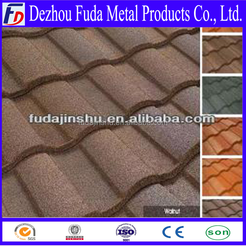 roofing material Metal Roman Roof Tiles prices
