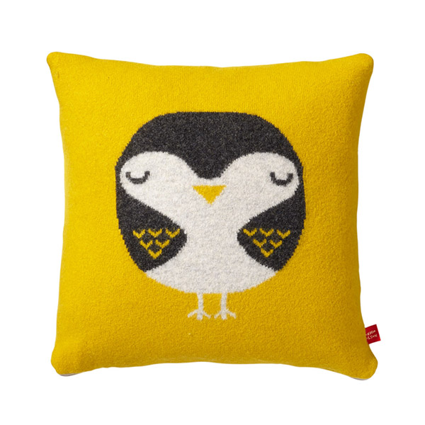creative animal print outdoor owl cushion