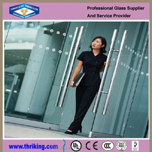 Thriking 10mm Wholesale clear tempered glass price, tempered glass weight
