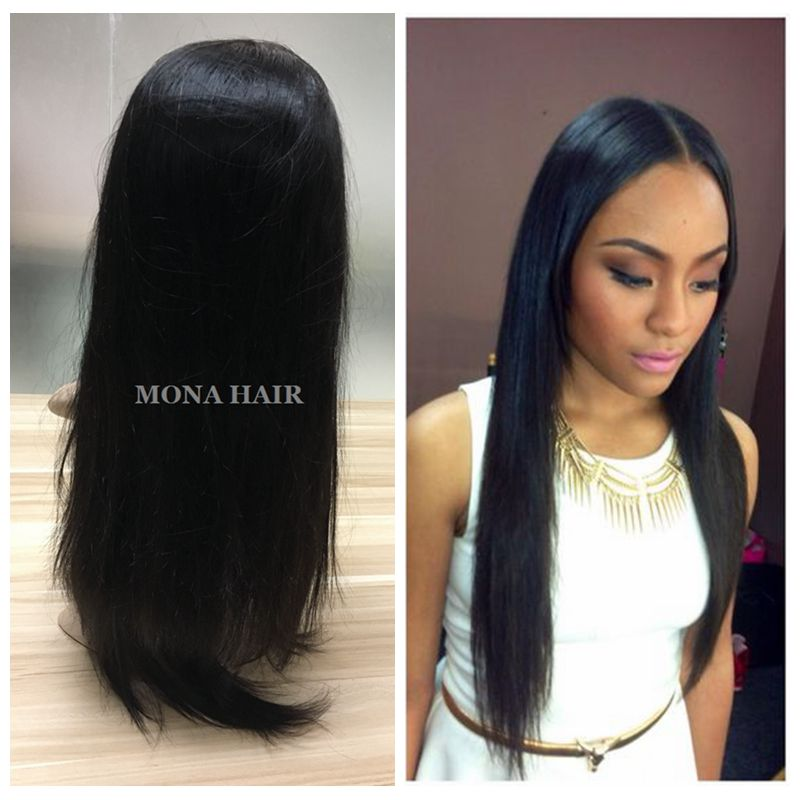Natural Straight Brazilian Wholesale Price Human Lace Front Wig