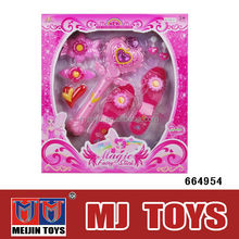 Hot plastic fairies toys princess magical wand set for kids