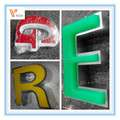 Custom Stainless steel LED backlit signs, Outdoors led Illuminated Channel Letters
