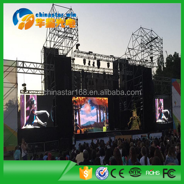 Full color LED sign / Led Display Outdoor Rental P5 Asynchronous / Synchronous LED display